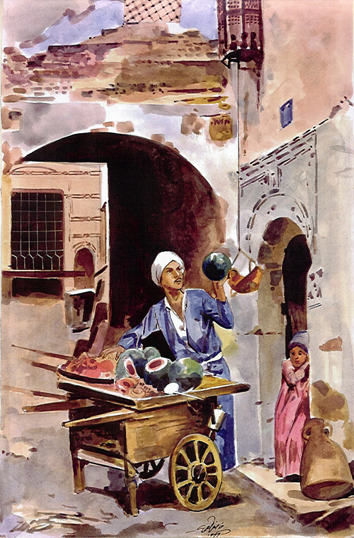 watermelon-seller